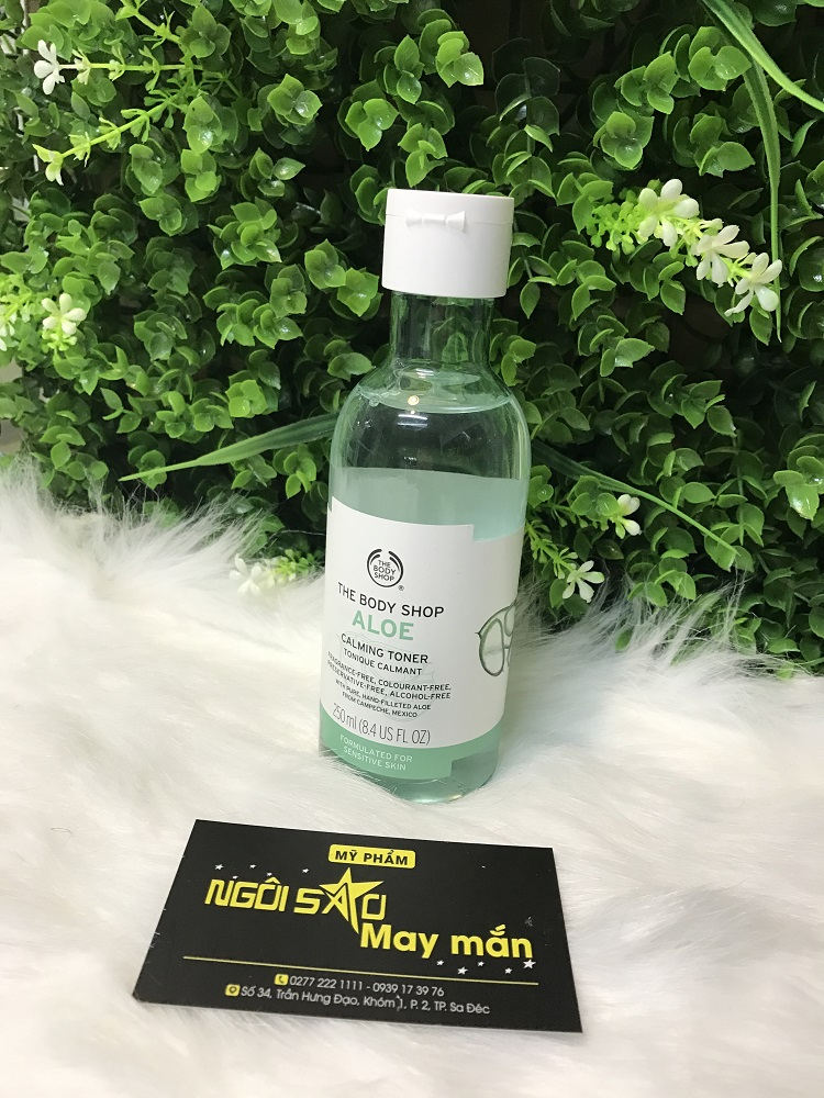 Nước Hoa Hồng The body shop Aloe Calming   (250ML)