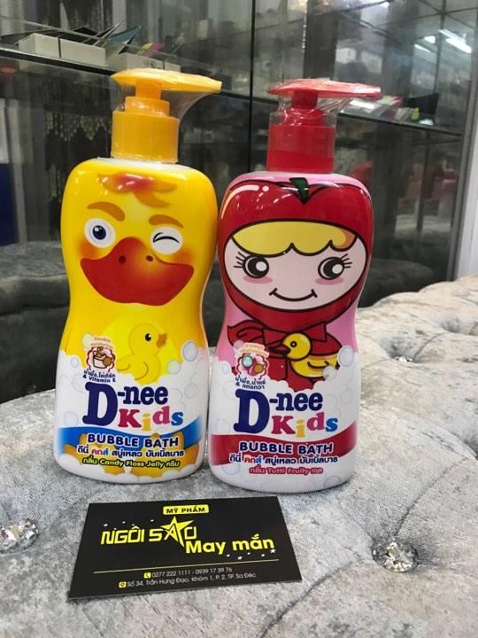 tắm tạo bọt trẻ em D NEE 400ml Thailand