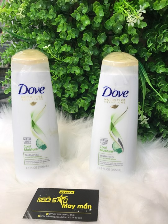 Gội DOVE NUTRITIVE SOLUTIONS COOL MOISTURE 355ml (USA)