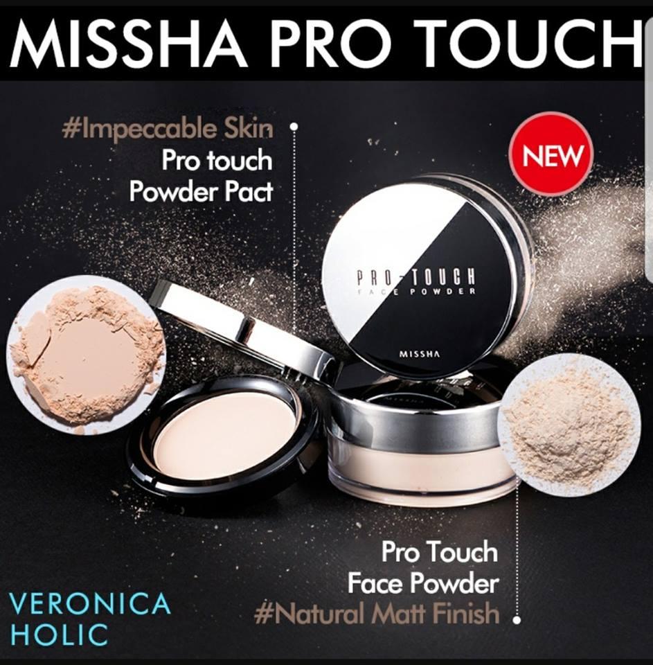 Phấn Phủ Dạng Bột Missha Pro-Touch Face Powder SPF15 PA++
