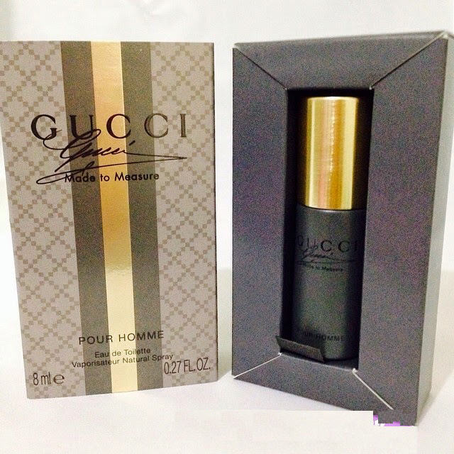 GUCCI MADE TO MEASURE POUR HOMME EDT Mini 8ML