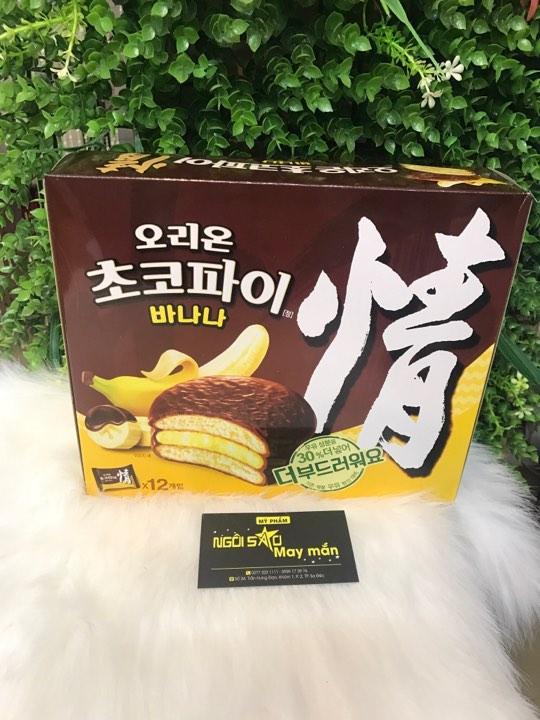 Bánh Chocopie chuối Korea
