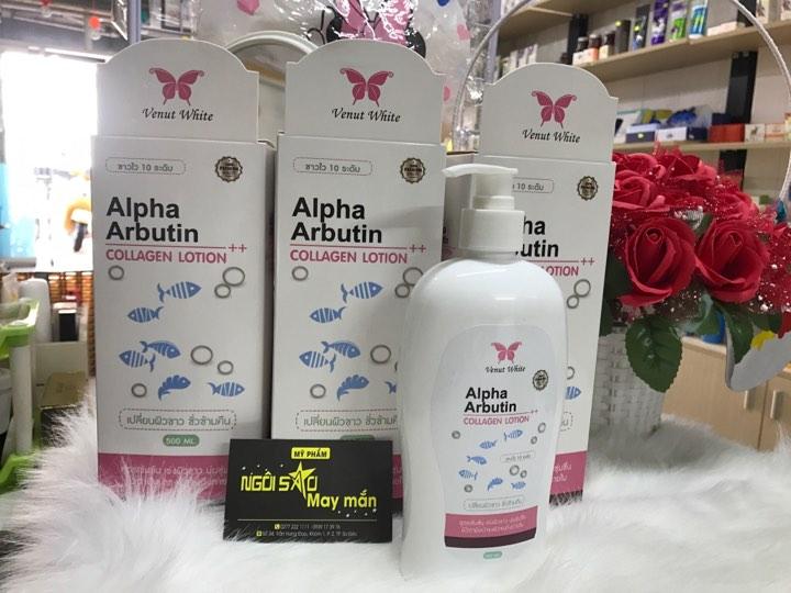 lotion kích trắng alpha arbutin (Thai Lan)