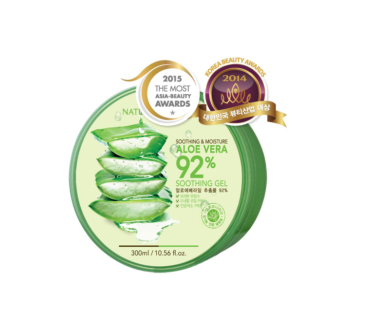 Gel Nha Đam Nature Republic 92% Soothing & moisture aloe vera soothing