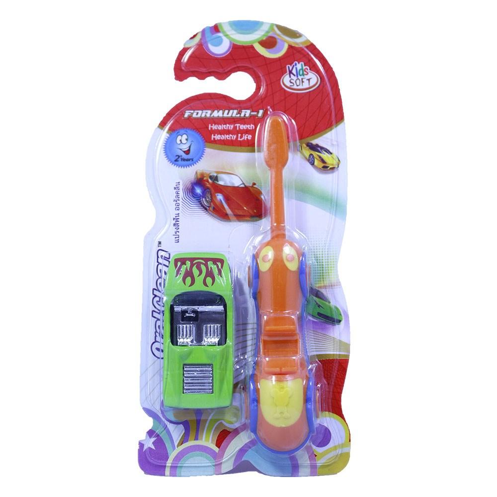bàn chải có đồ chơi cho bé oralclear (2 tuổi đổ lên)
