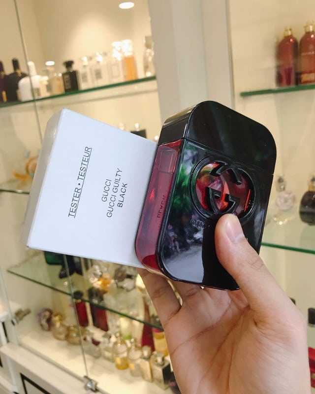 gucci guilty black edt tester 75ml (nữ)