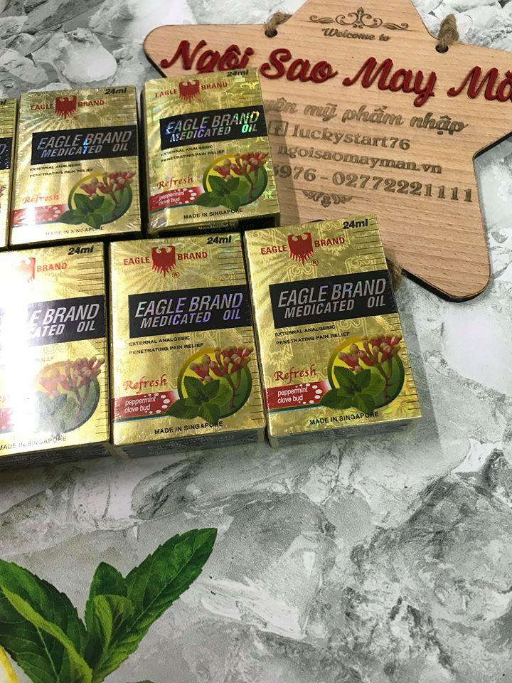 Dầu con ó vàng huơng hoa đinh huơng 24ml (Singapore)