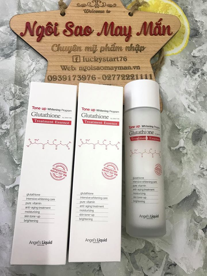 Nước Thần Tone Up Whitening Program Glutathione Treatment Essence 7days