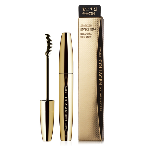 MASCARA COLLAGEN THE FACE SHOP FACE IT COLLAGEN VOLUME MASCARA