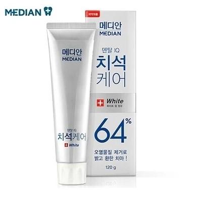 kem đánh răng Median 86% white korea