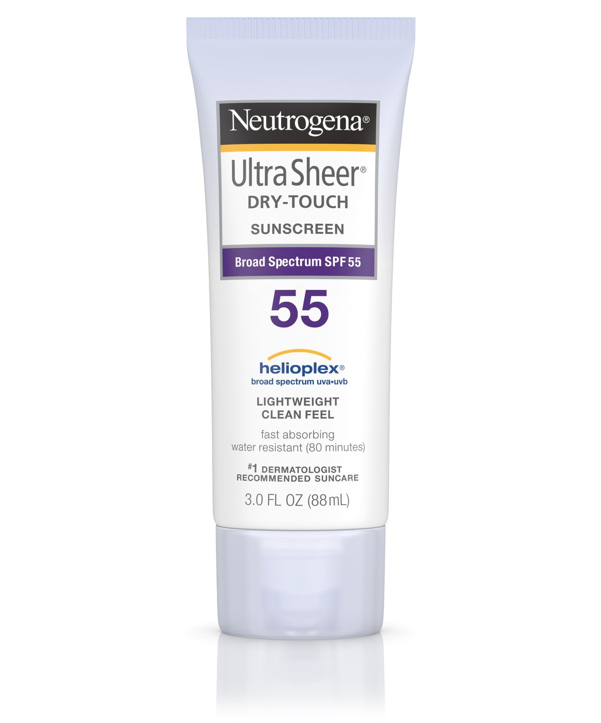 kcn neutrogena ultra sheer dry touch sunscreen spf55 88ml