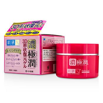 Kem dưỡng chống lão hóa Hada Labo Gokujyun 3D Perfect Gel 100g (Hủ Hồng) (dạng gel)