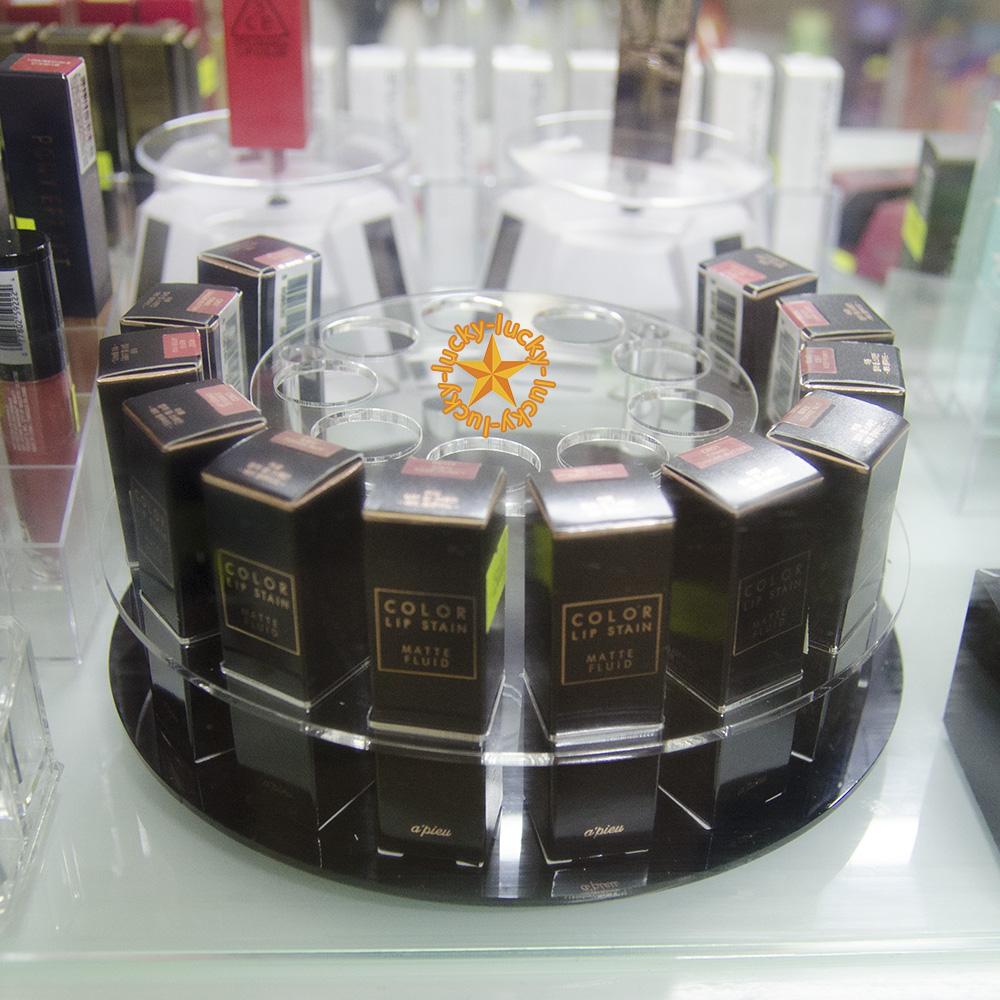 Khay Son Acrylic tròn
