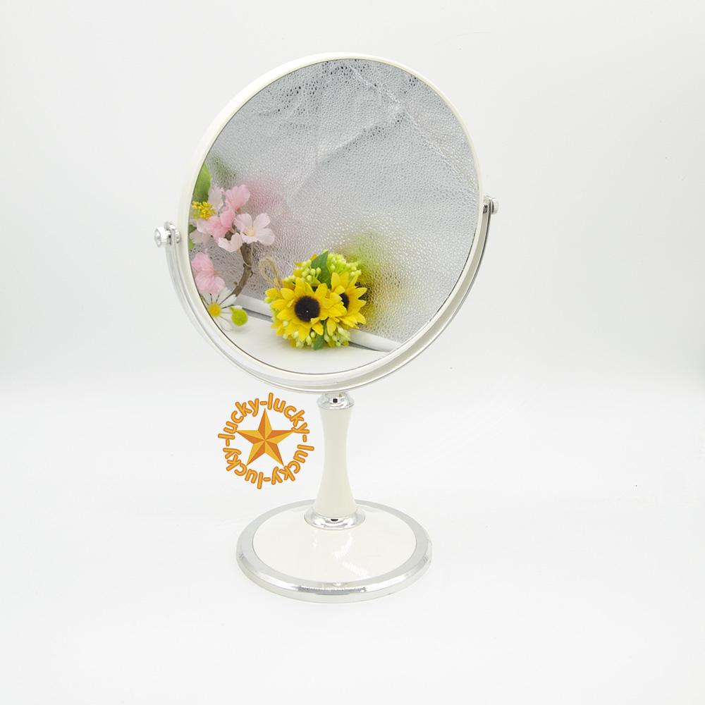 gương tròn xoay 2 kính