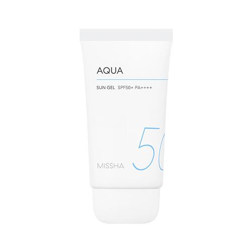 kem chống nắng missha aqua sun gel spf50+ PA++++ (2018)