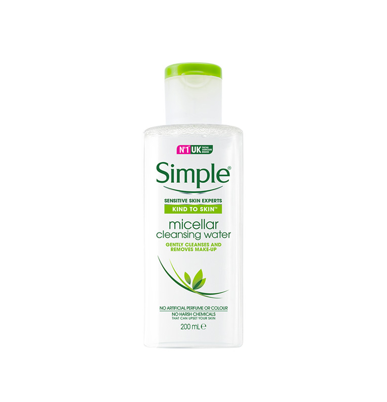 nước tẩy trang Simple Cleansing water 200ml