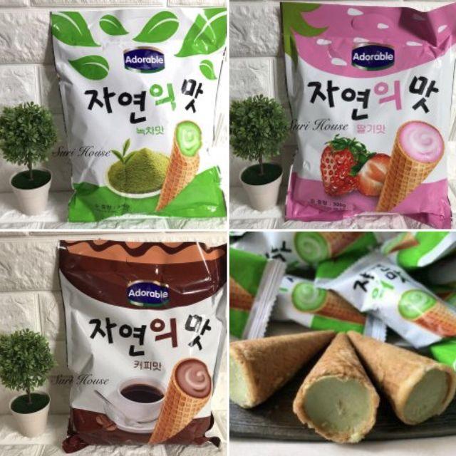 bánh óc quế Korea