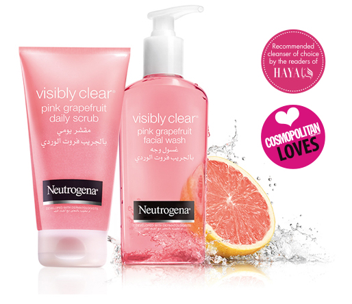 GEL Rữa Mặt Neutrogena  Visibly Clear Pink Grapefruit 200 ML
