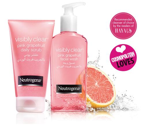 GEL Rữa Mặt Neutrogena  Visibly Clear Pink Grapefruit 200 ML