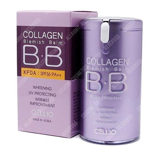 kem nền BB Cellio Collagen