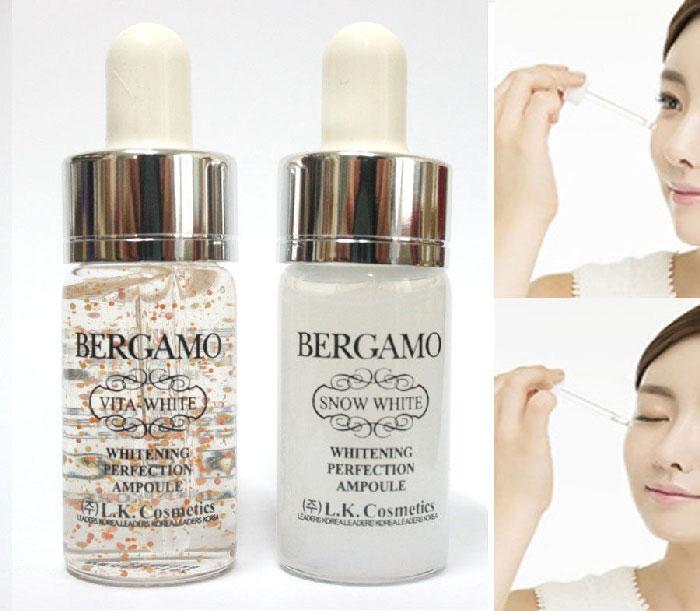 serum bergamo snow white vita white (dưỡng trắng điều trị thâm nám tàn nhang)