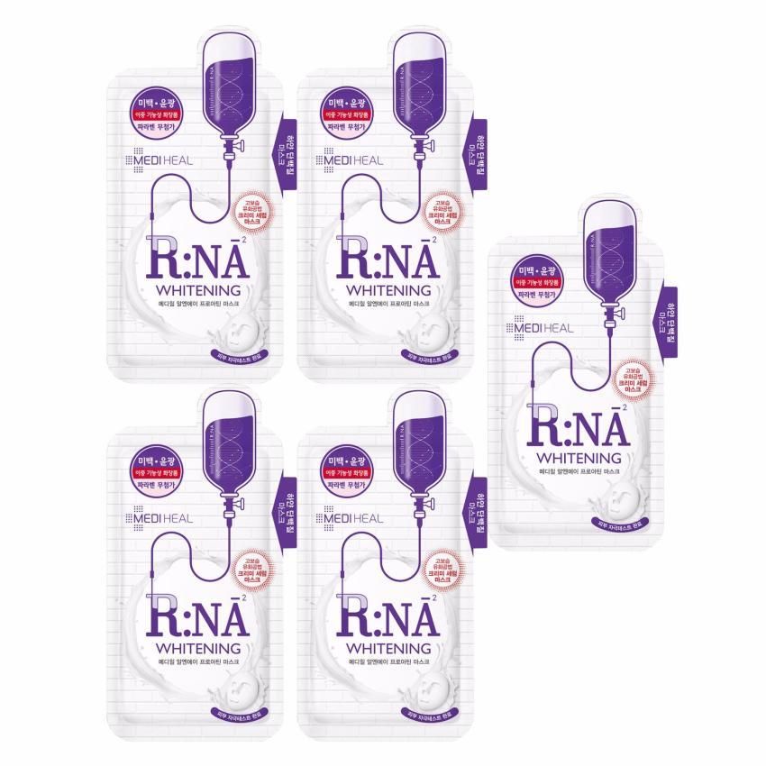 mặt nạ mediheal  RNA brightening (sáng da)