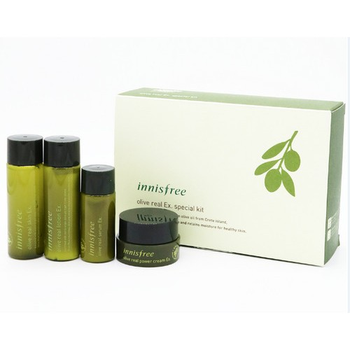 Set Innisfree Olive Innisfree Olive Real Ex. Special Kit (4 SẢN PHẨM)