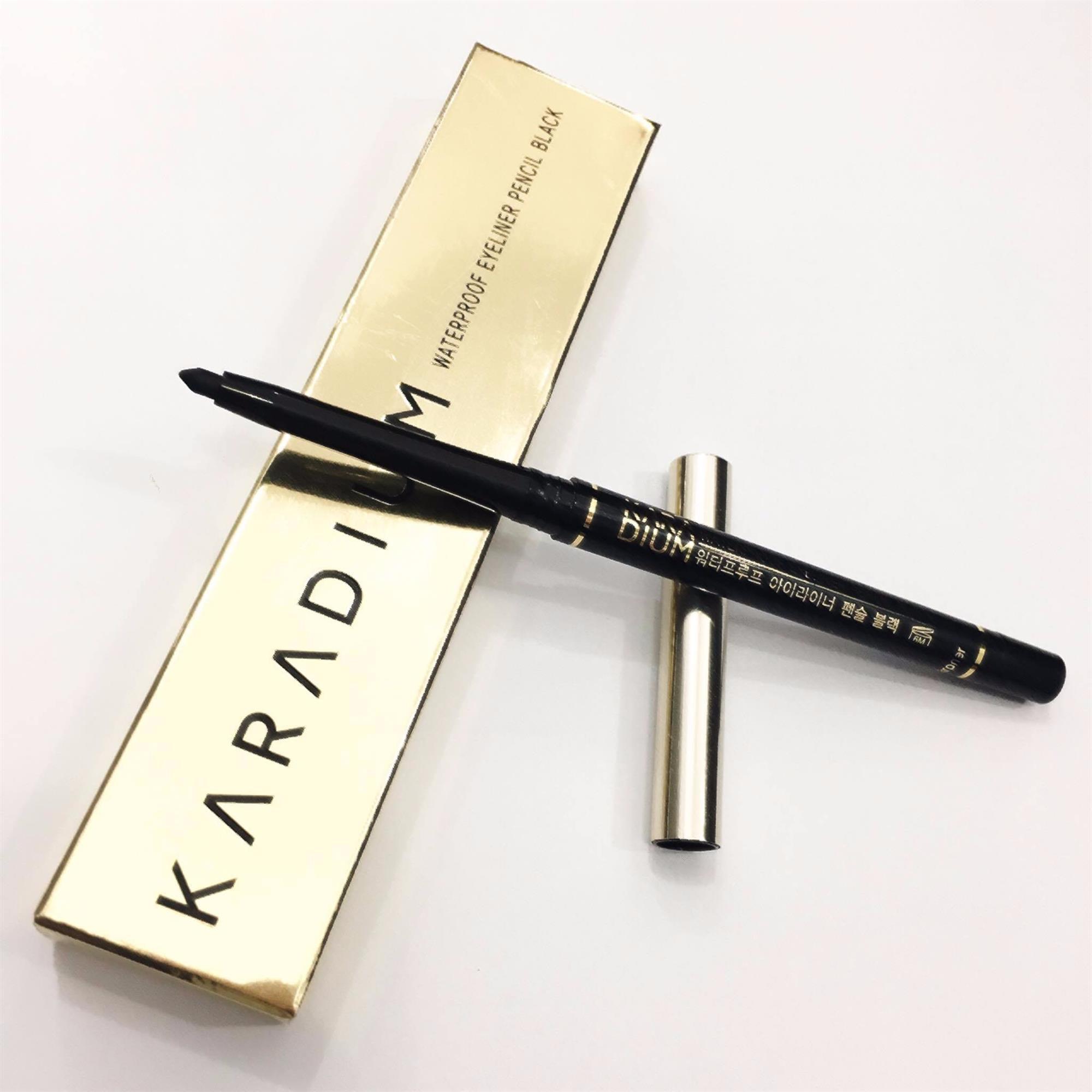 Bút Chì Kẻ Mắt Chống Trôi Karadium (VỎ VÀNG)