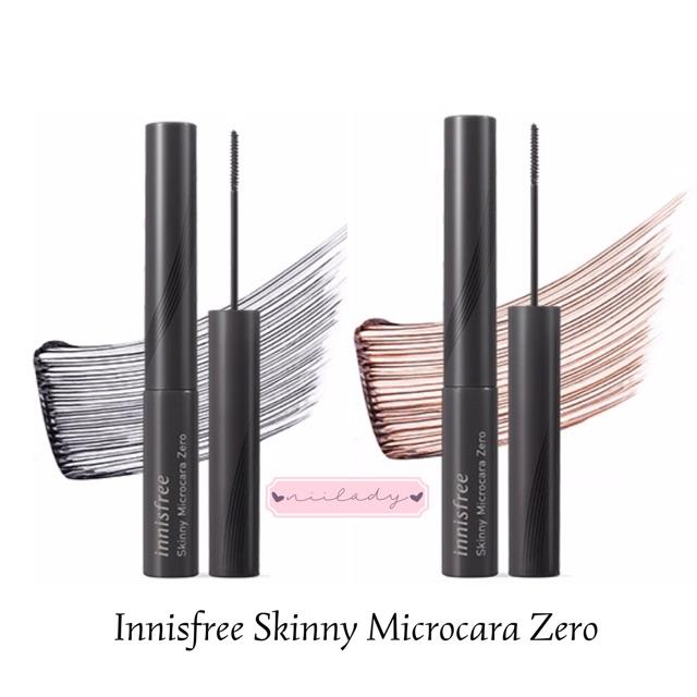mascara innisfree skinny microcara zero