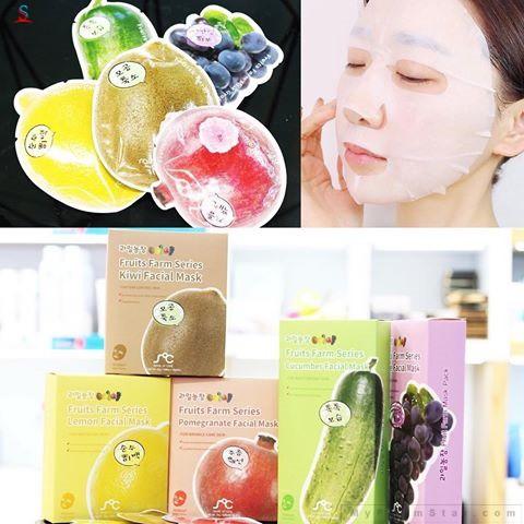 mặt nạ trái cây fruits farm series