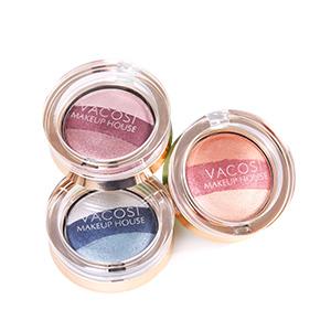 Phấn Mắt Trang Điểm 3 Màu Vacosi (có nhiều màu)