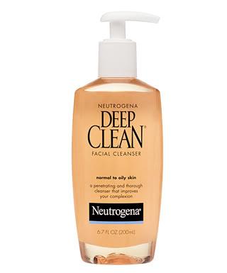 gel rữa mặt neutrogena deep clean 200ml (cho da dầu)