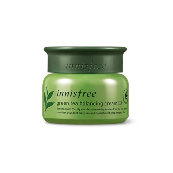 Kem Dưỡng Da Innisfree Green Tea Balancing Cream EX (50ml)