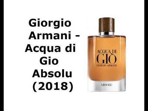 Armani Acqua Di Gio Absolu EDP 75ml (Tester )