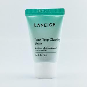 Sữa rửa mặt kiểm soát dầu, làm sạch sâu lỗ chân lông Laneige Pore Deep Clearing Foam 10ml (mini)