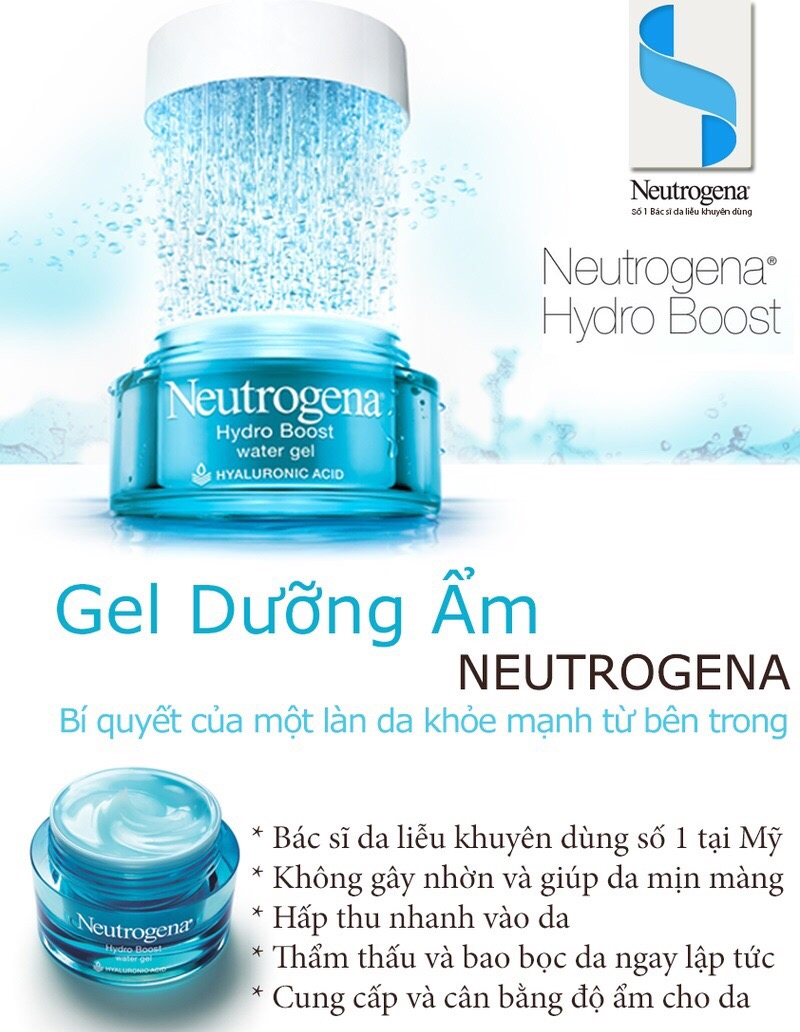 Gel Dưỡng Ẩm Cung Cấp Nước Cho Da Neutrogena Hydro Boost Water Gel (48g)