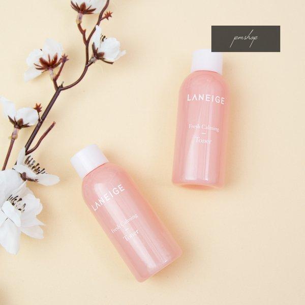 Nước hoa hồng cân bằng, dịu mát da Laneige Fresh Calming Toner (mini size)