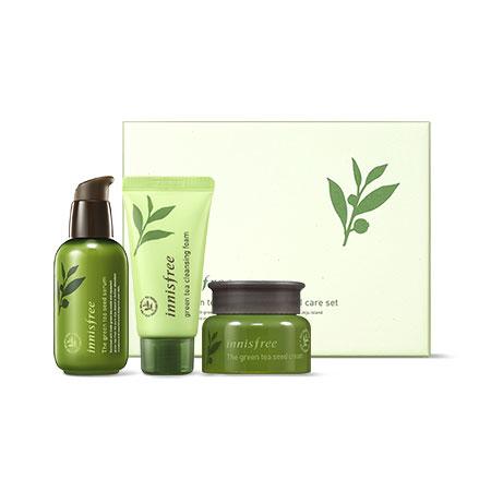 Innisfree The Green Tea Seed Serum Special Set (3 món)