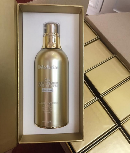 tinh chất JM Solution 24k gold Premium Peptide all in one special (30 ml và 100ml)