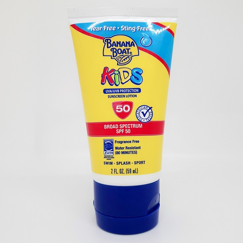chống nắng trẻ em banana boat kids broad spectrum SPF50 59ml