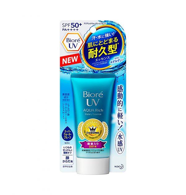 Kem chống nắng Biore UV Aqua Rich Watery Essence SPF 50+/ PA++++ 40ml (Nội Địa Nhật)