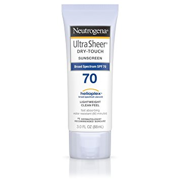 kcn neutrogena ultra sheer dry touch sunscreen spf70 88ml