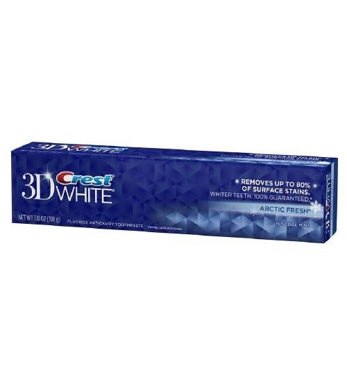 KEM ĐÁNH RĂNG CREST 3D WHITE ARCTIC FRESH 198G