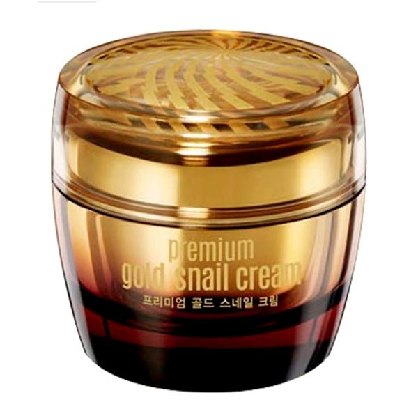 Kem dưỡng da chiết xuất ốc sên và vàng Goodal Premium Gold Snail Cream 50ml