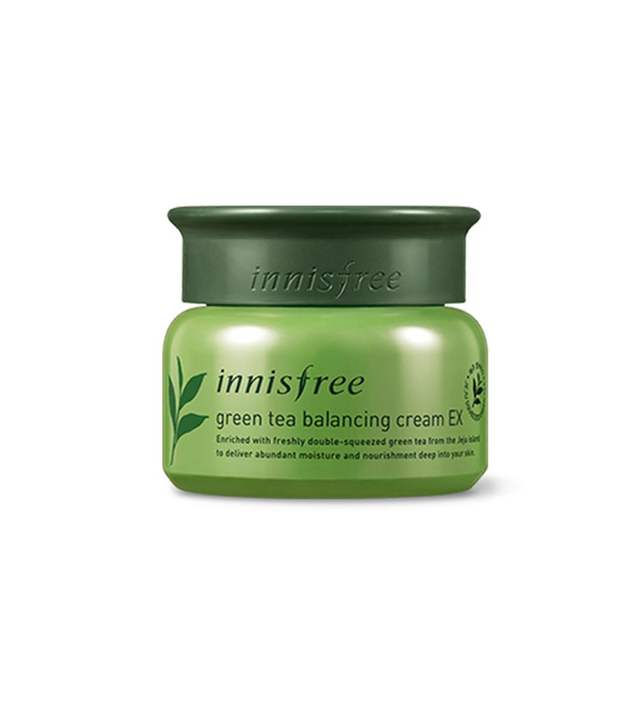 kem innisfree green tea balancing cream ex 50ml