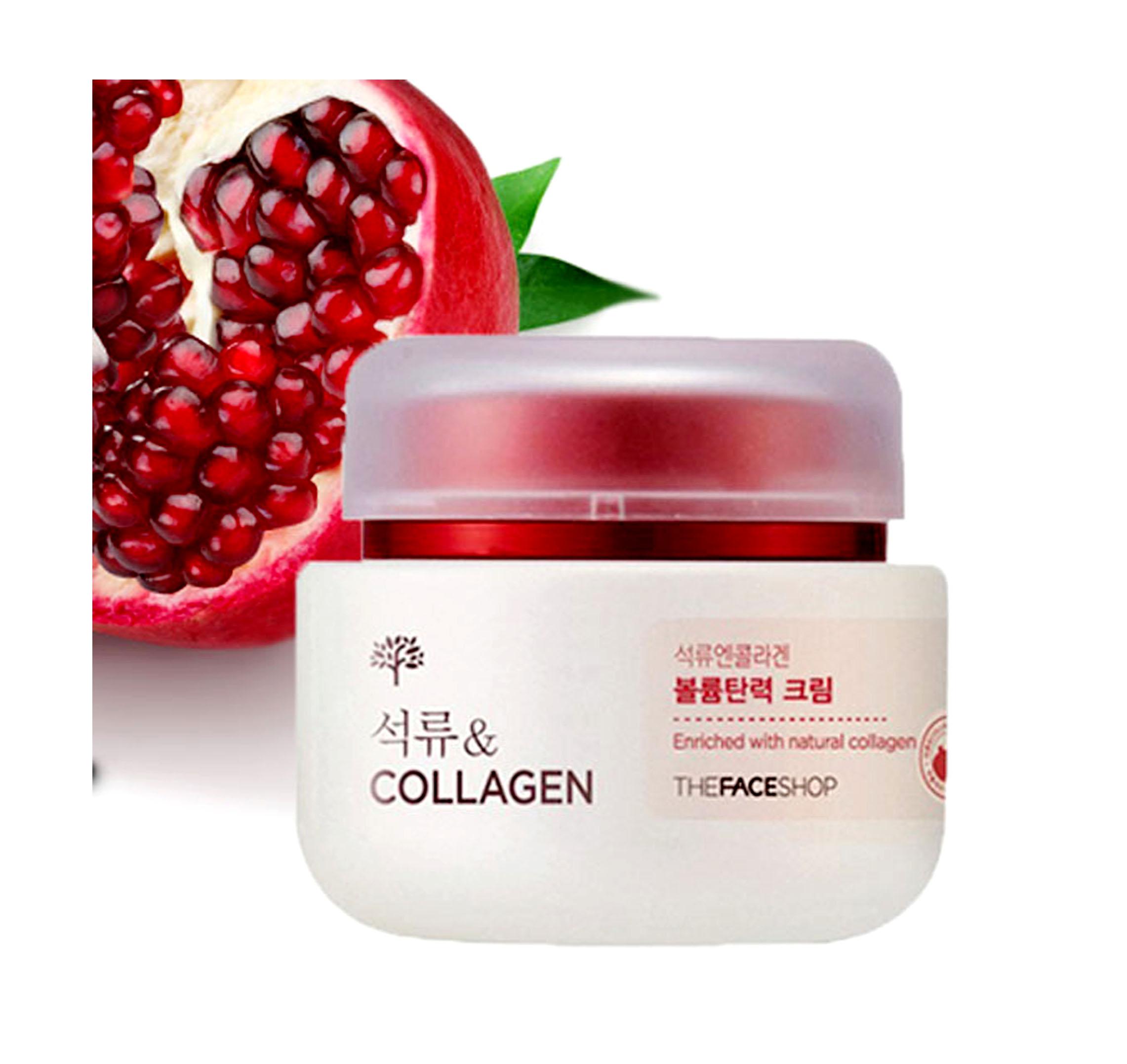 kem dưỡng da collagen lựu the face shop (chống lão hoá , trắng da)