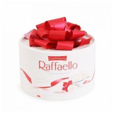 bánh raffaello dừa hộp quà tròn 200g