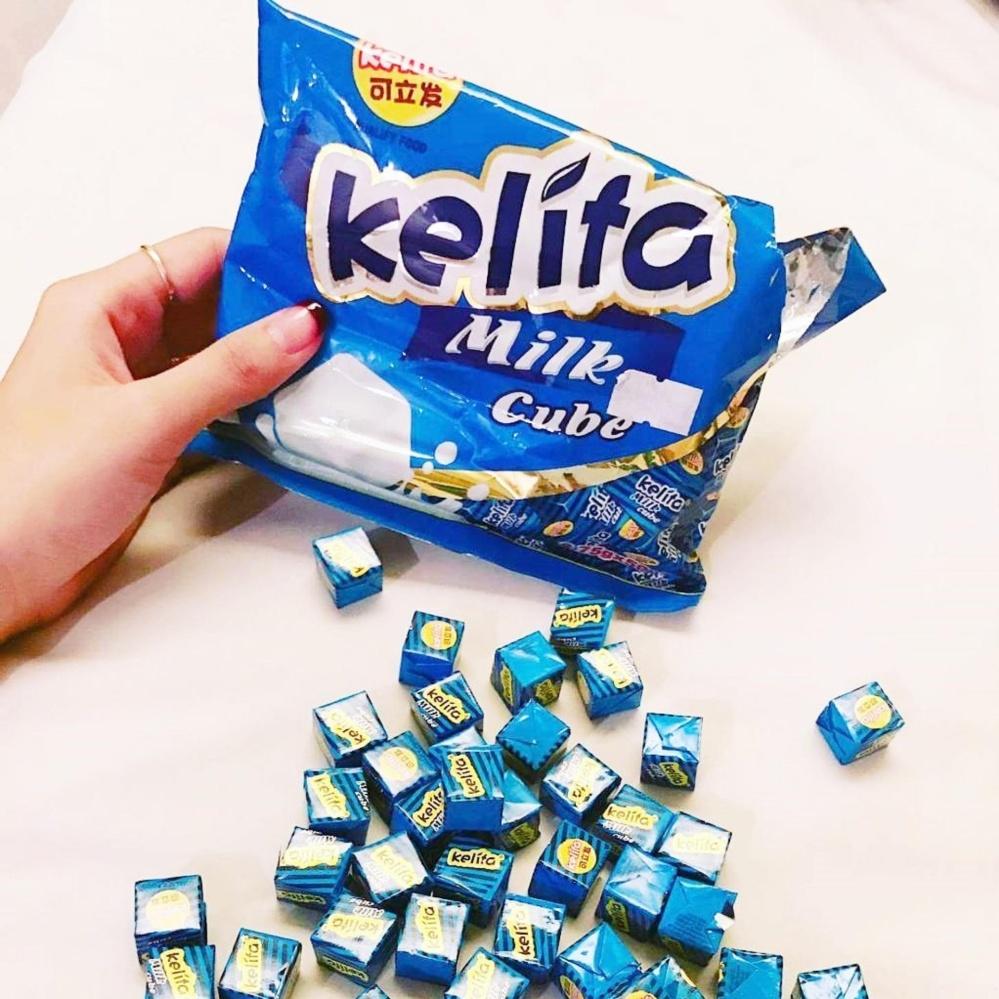 kẹo kelita milk cube 100 viên