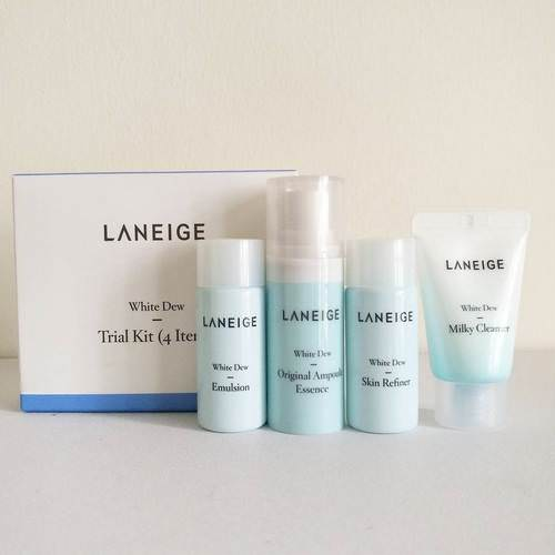 Set Trắng Da Laneige White Plus Renew Trial Kit (4sp)