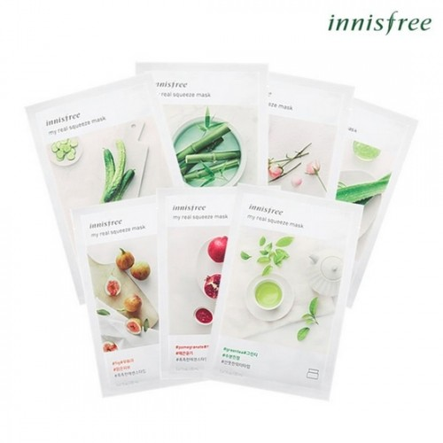 Mặt Nạ Giấy Innisfree My Real Squeeze Mask (2017)